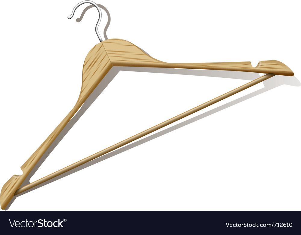 Clothes hanger vector | Price: 3 Credit (USD $3)