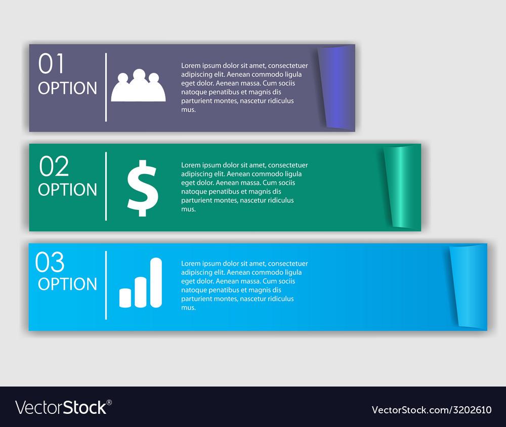 Infographics design elements vector | Price: 1 Credit (USD $1)