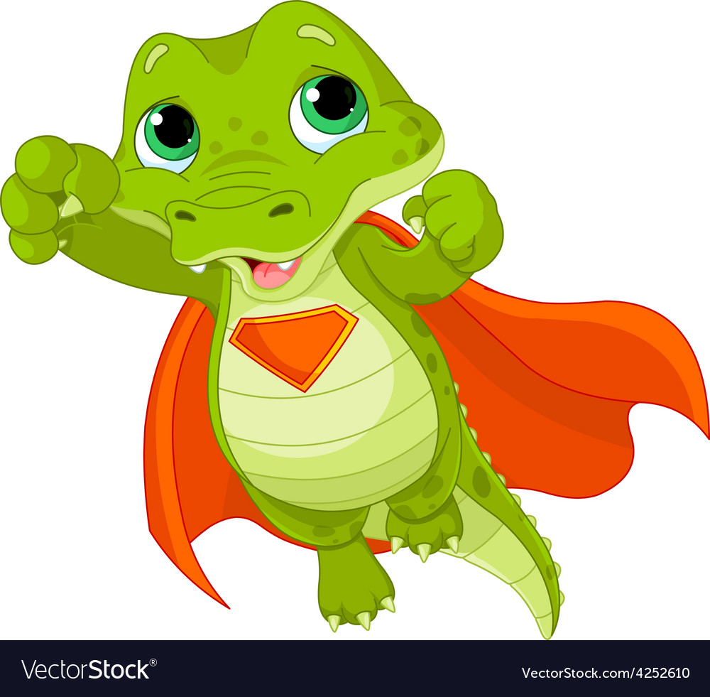 Super alligator vector
