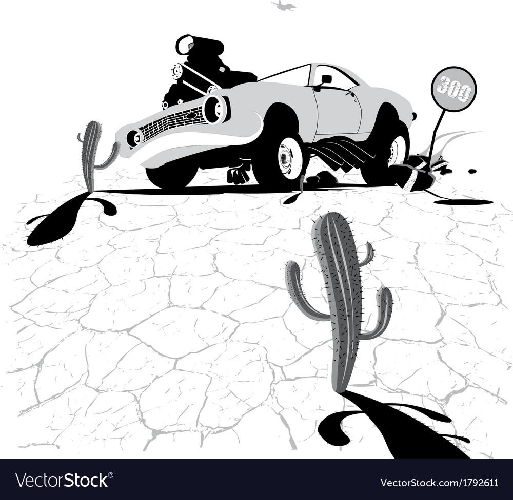Bad cars vector | Price: 1 Credit (USD $1)