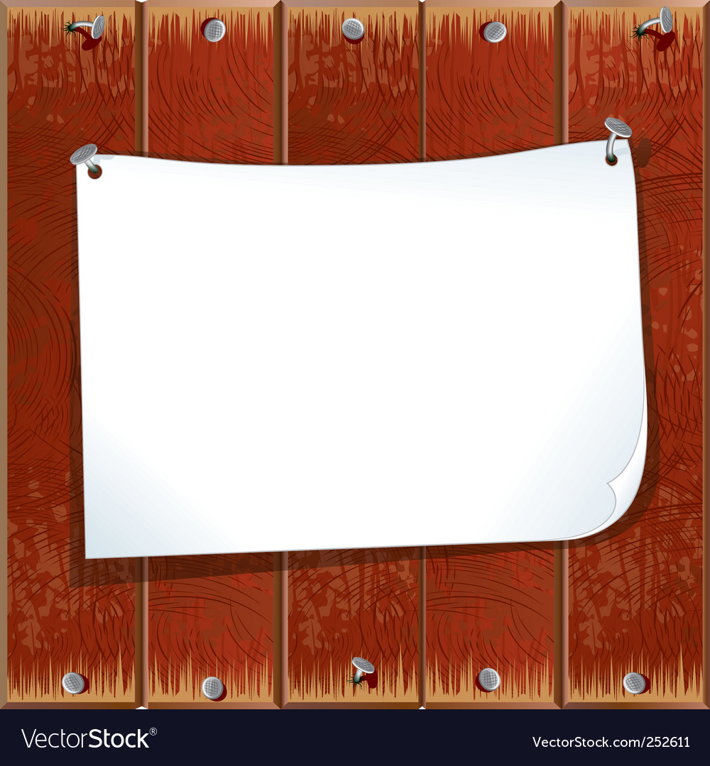 Blank note paper vector | Price: 3 Credit (USD $3)