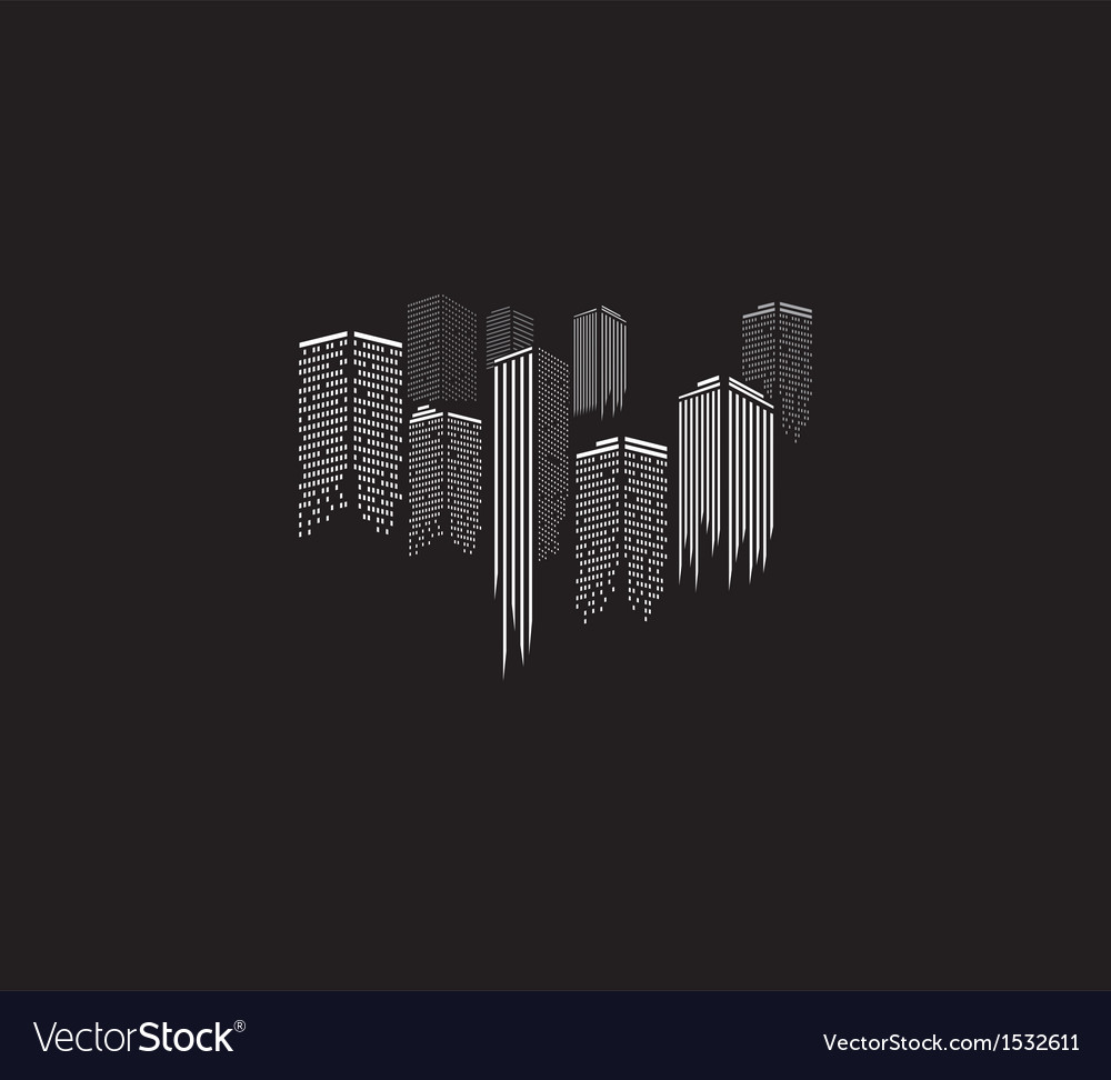 City icon vector | Price: 1 Credit (USD $1)