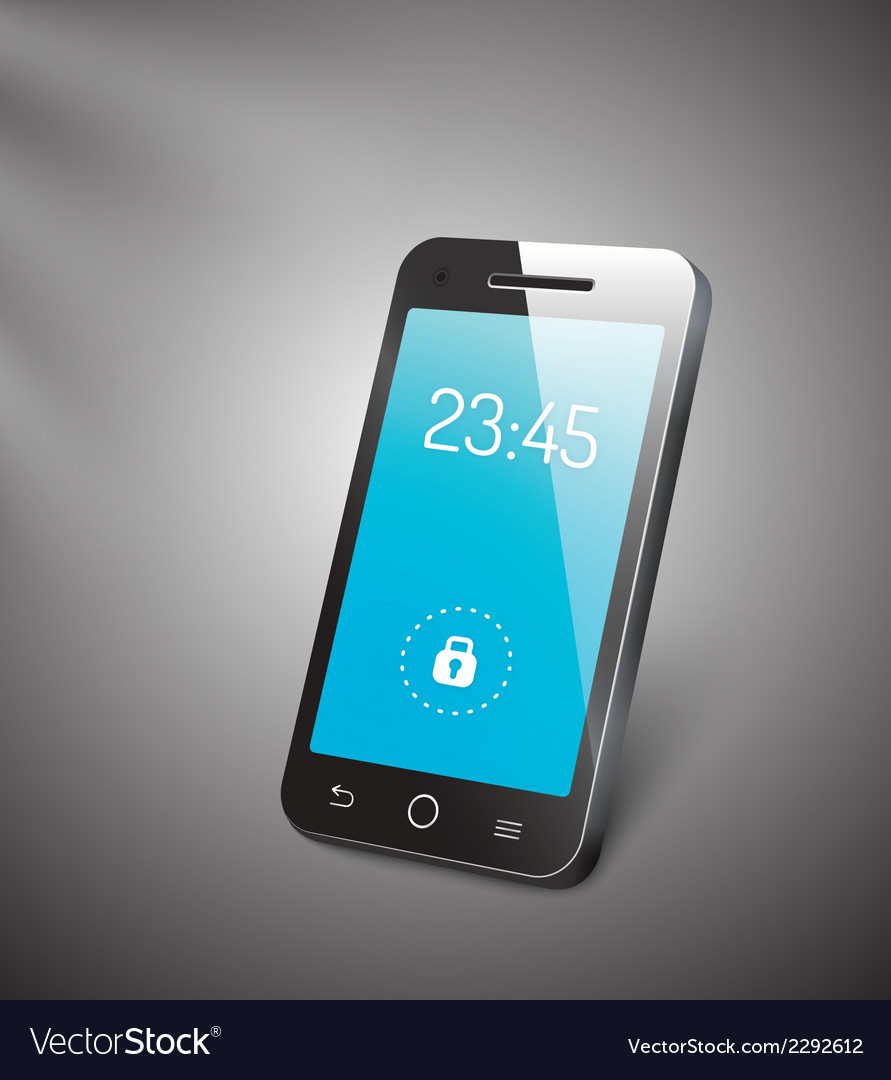 3d mobile phone vector | Price: 1 Credit (USD $1)