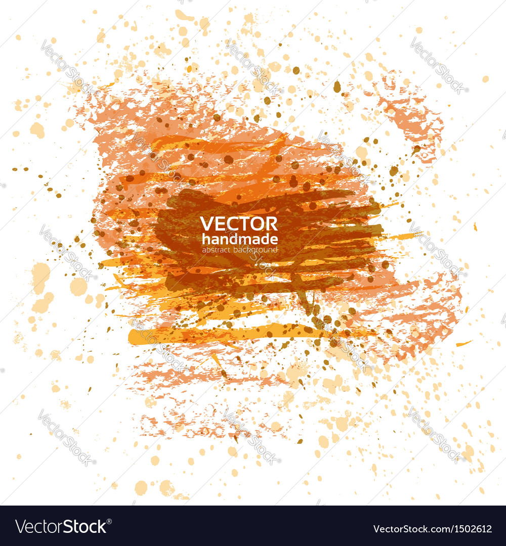 Abstract banner of spray paint and brush strokes vector | Price: 1 Credit (USD $1)