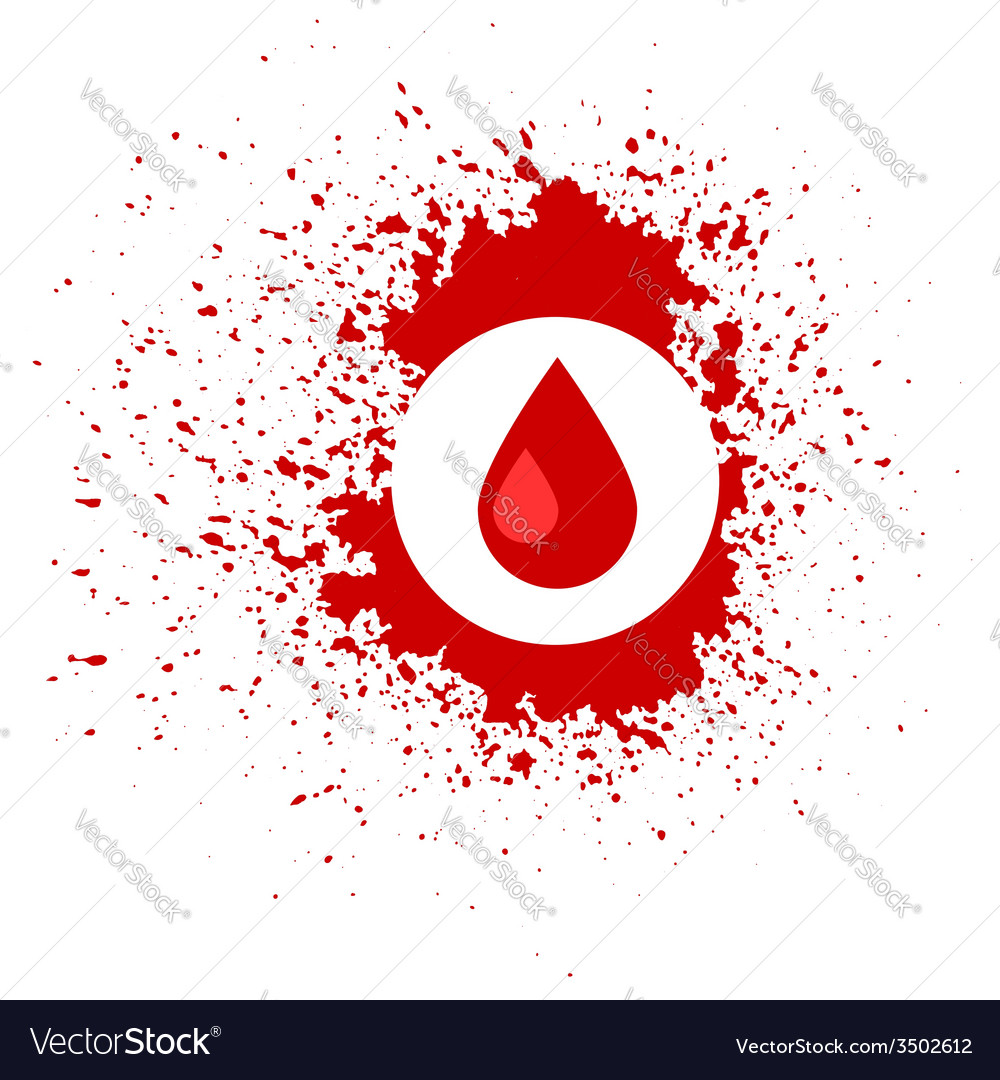 Blood icon vector | Price: 1 Credit (USD $1)