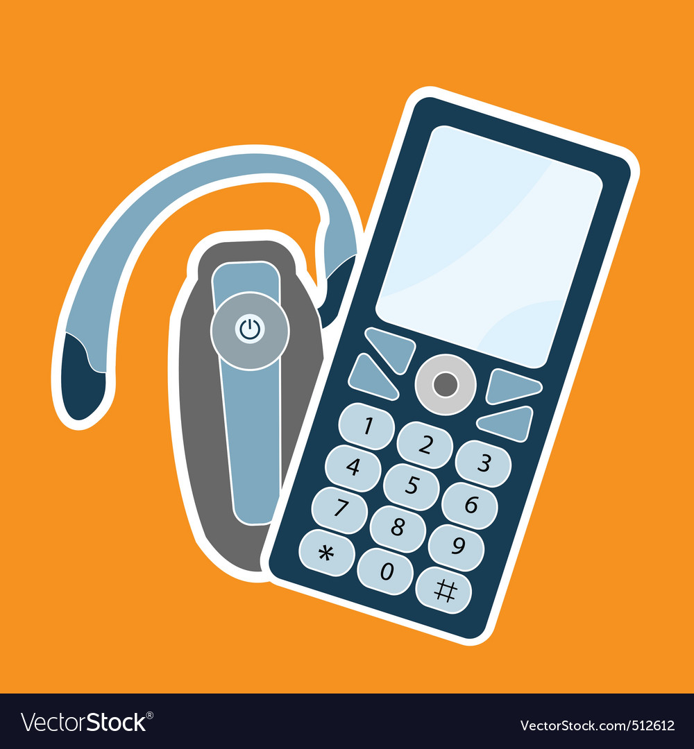 Cellphone vector | Price: 1 Credit (USD $1)