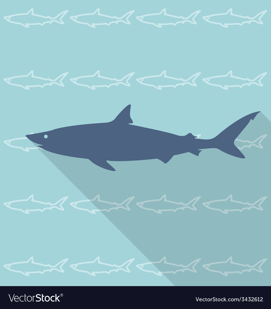 Shark vector | Price: 1 Credit (USD $1)