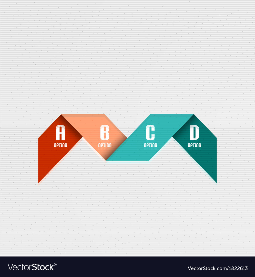 Business infographic lines design vector | Price: 1 Credit (USD $1)
