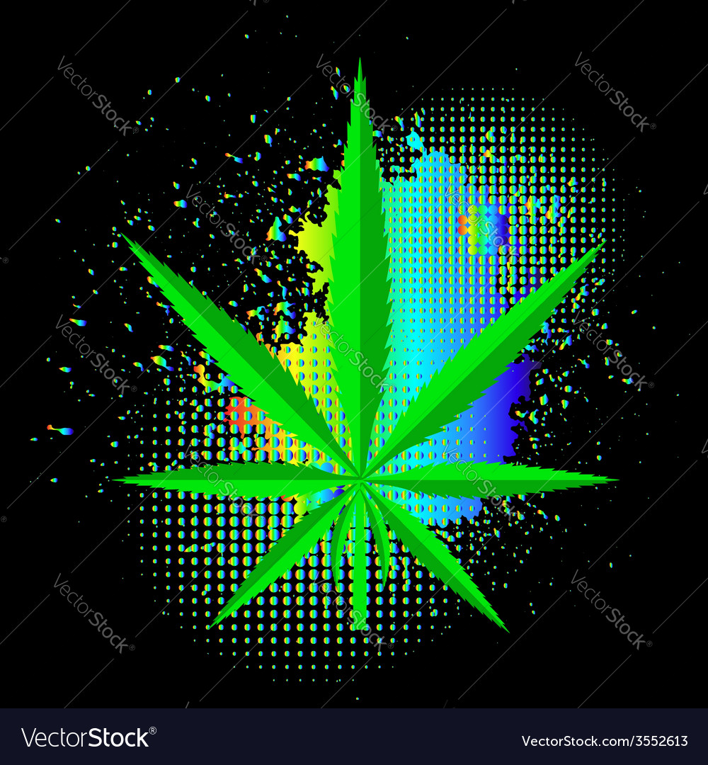 Cannabis background vector | Price: 1 Credit (USD $1)