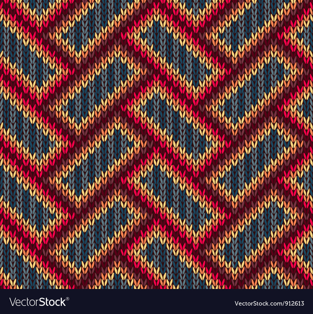 Color knitwear seamless pattern vector   Price: 1 Credit (USD $1)