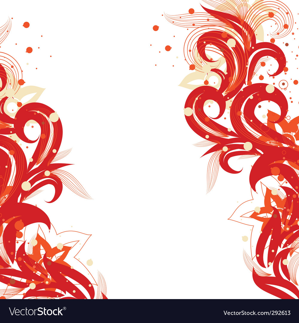 Fiery flower vector | Price: 1 Credit (USD $1)