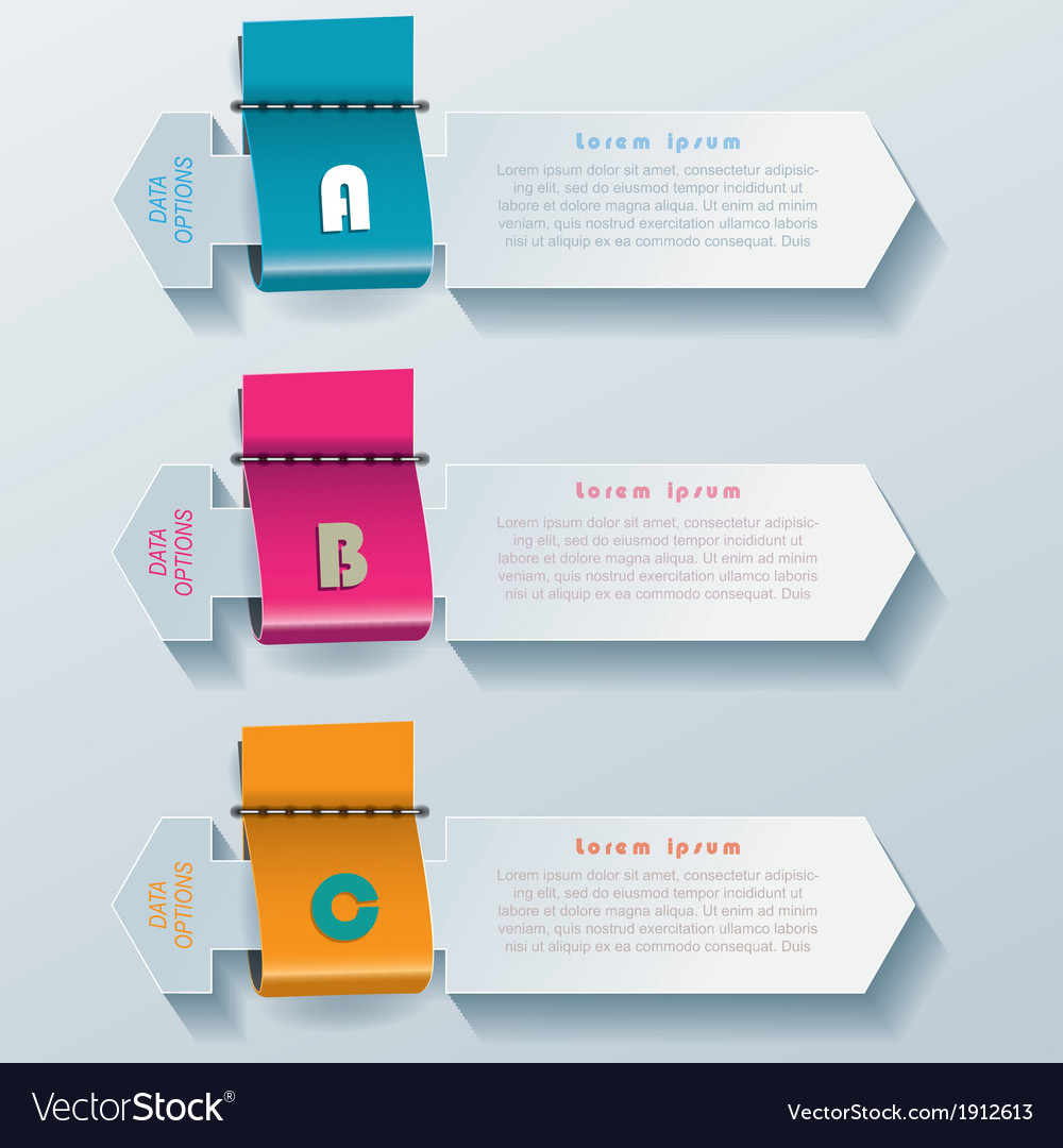 Modern infographic template design vector | Price: 1 Credit (USD $1)