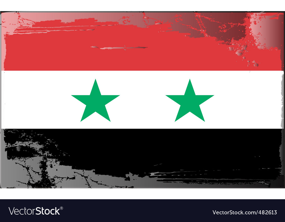 Syria national flag vector   Price: 1 Credit (USD $1)