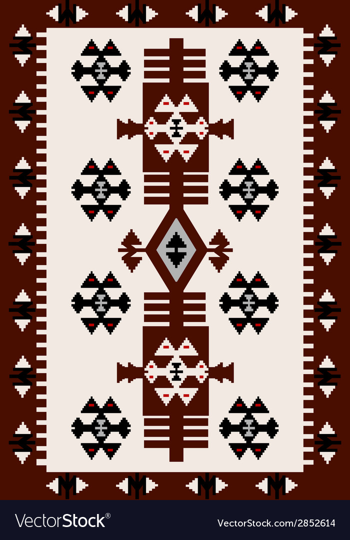 Carpet with hungarian motifs vector | Price: 1 Credit (USD $1)