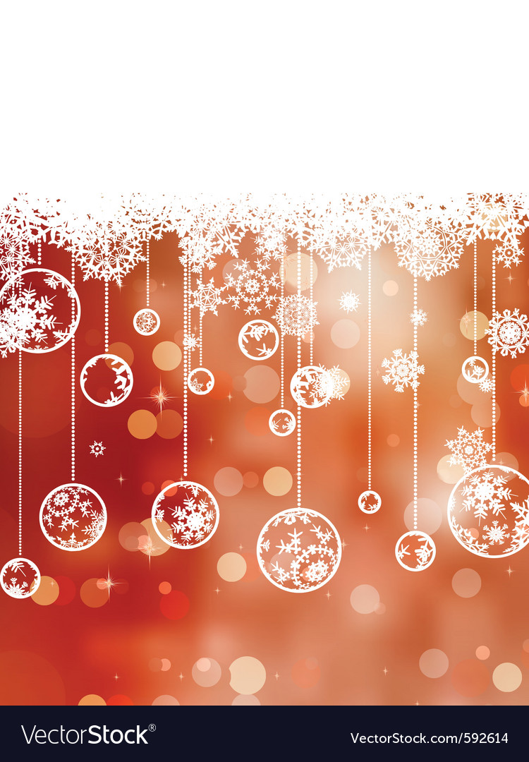 Elegant christmas background eps 8 vector | Price: 1 Credit (USD $1)