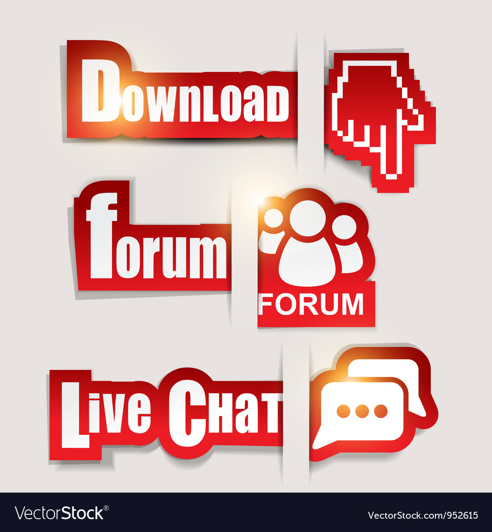 Download forum chat icons vector | Price: 1 Credit (USD $1)