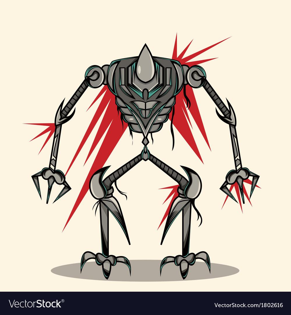 Eksoskeleton robot vector   Price: 1 Credit (USD $1)