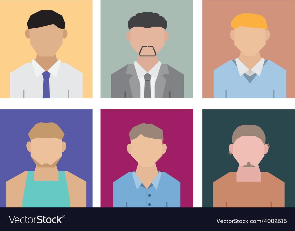 Geometric people vector | Price: 1 Credit (USD $1)