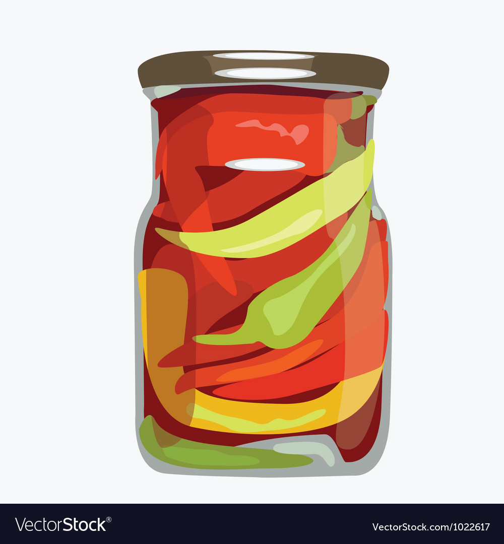 Bank of paprika vector | Price: 1 Credit (USD $1)