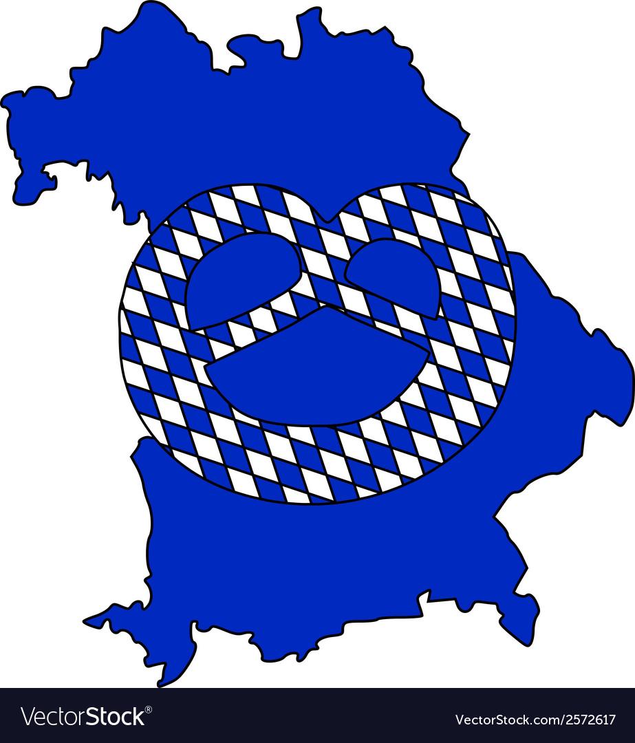 Bavarian pretzel vector | Price: 1 Credit (USD $1)