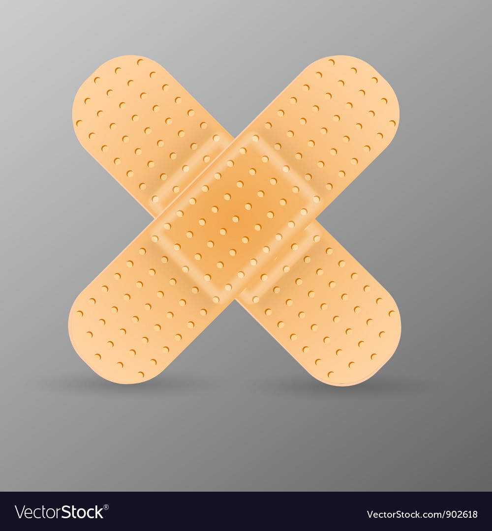 Adhesive bandage vector | Price: 1 Credit (USD $1)