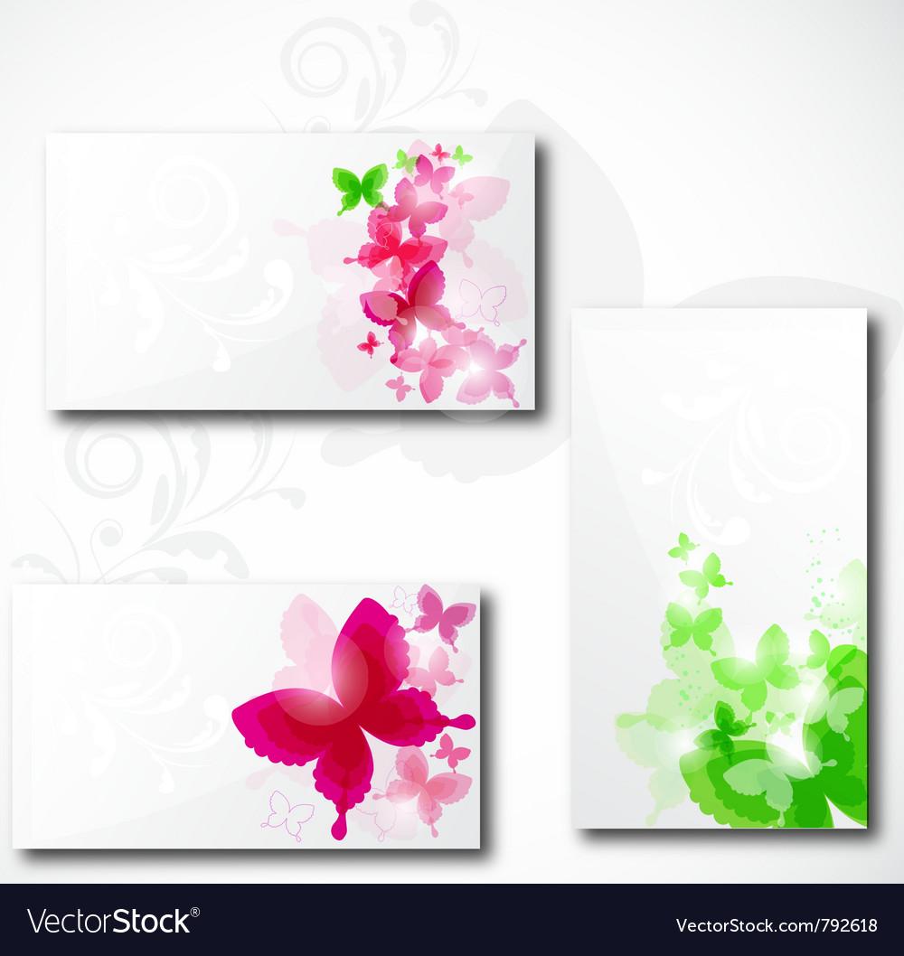 Modern business-card set vector | Price: 1 Credit (USD $1)