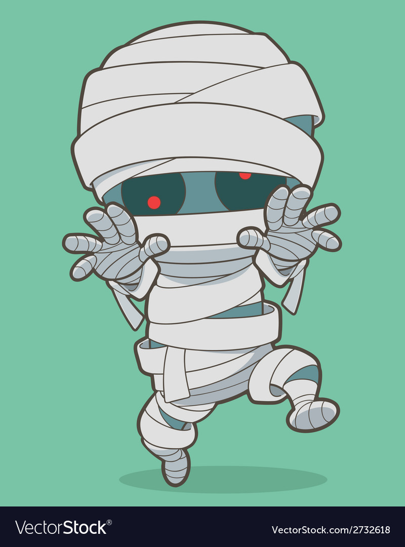 Mummy vector | Price: 1 Credit (USD $1)