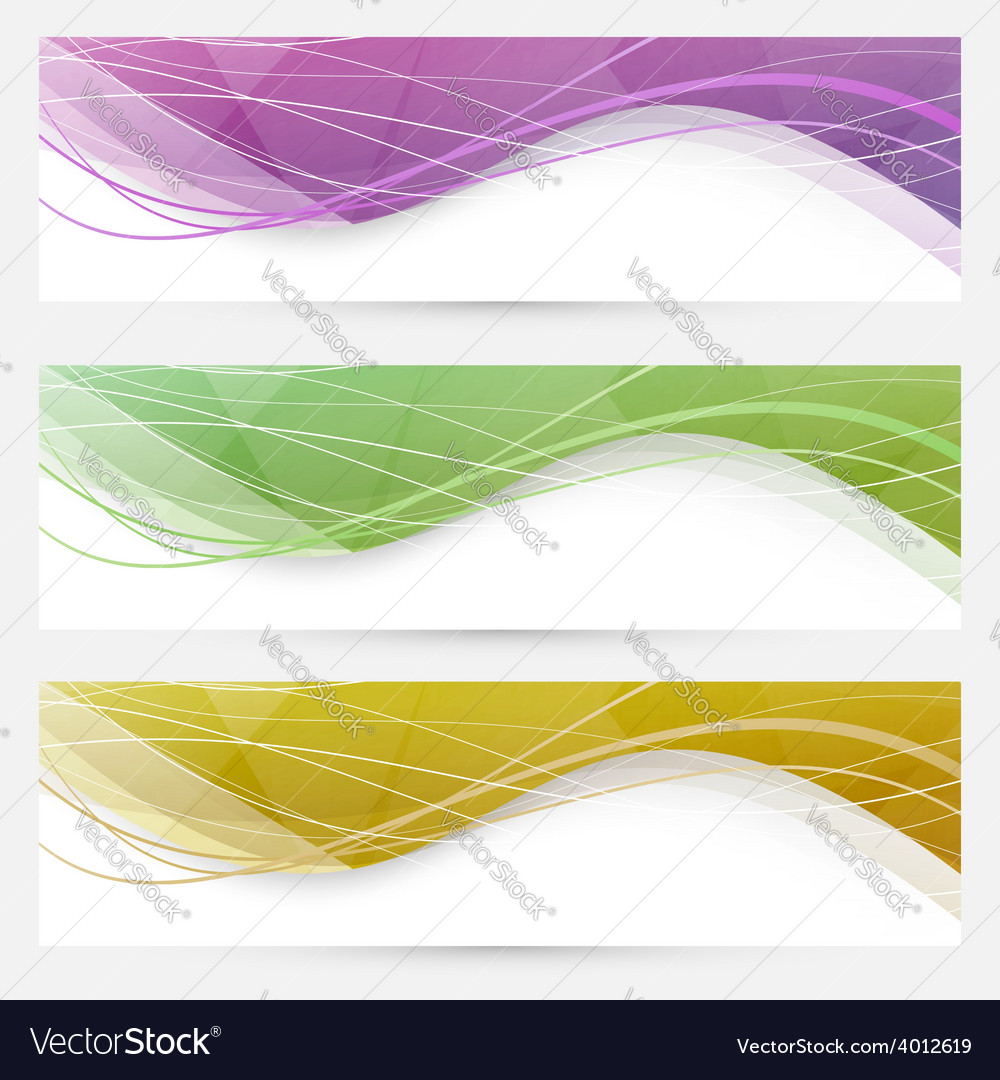 Abstract crystal wave speed line website header vector | Price: 1 Credit (USD $1)