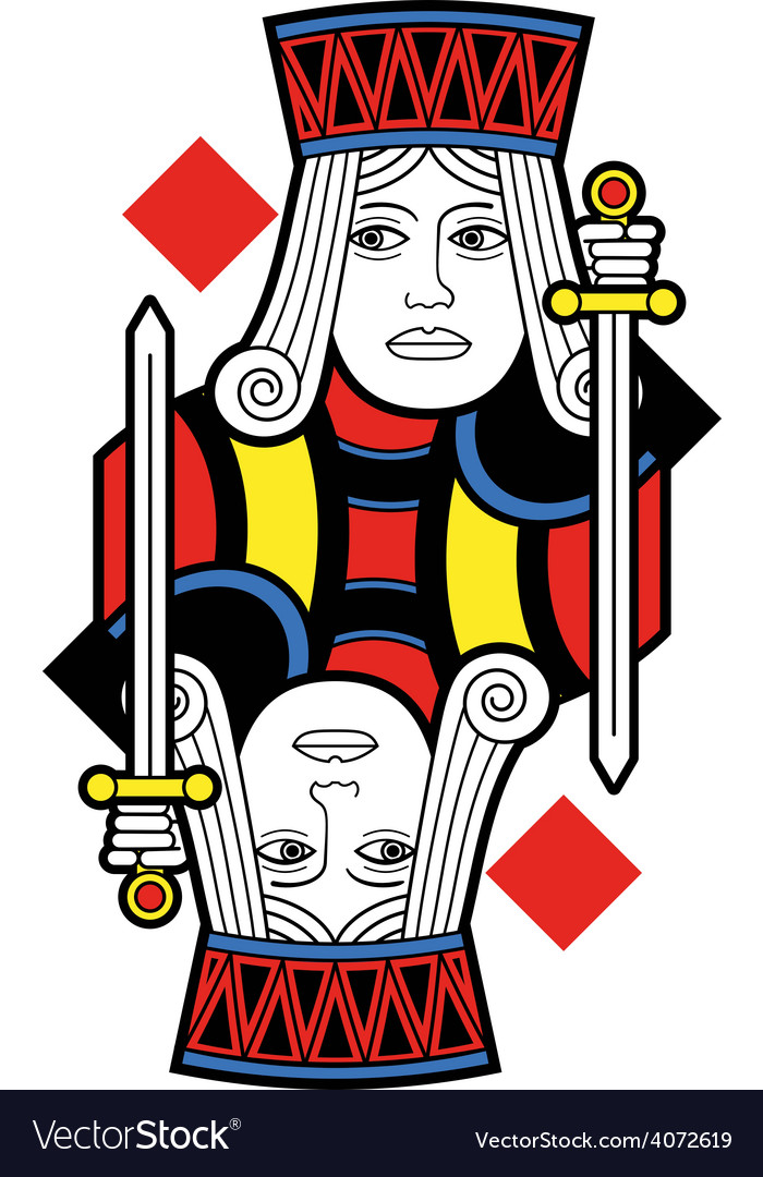Jack of diamonds no card vector | Price: 1 Credit (USD $1)