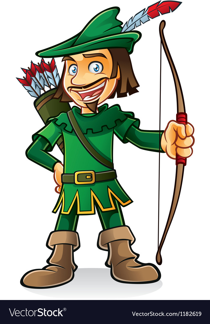 Robin hood vector | Price: 3 Credit (USD $3)