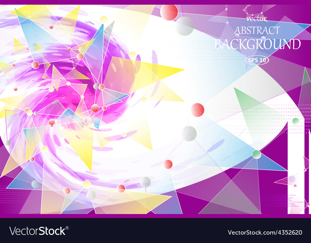 Abstract background watercolor spiral vector | Price: 1 Credit (USD $1)