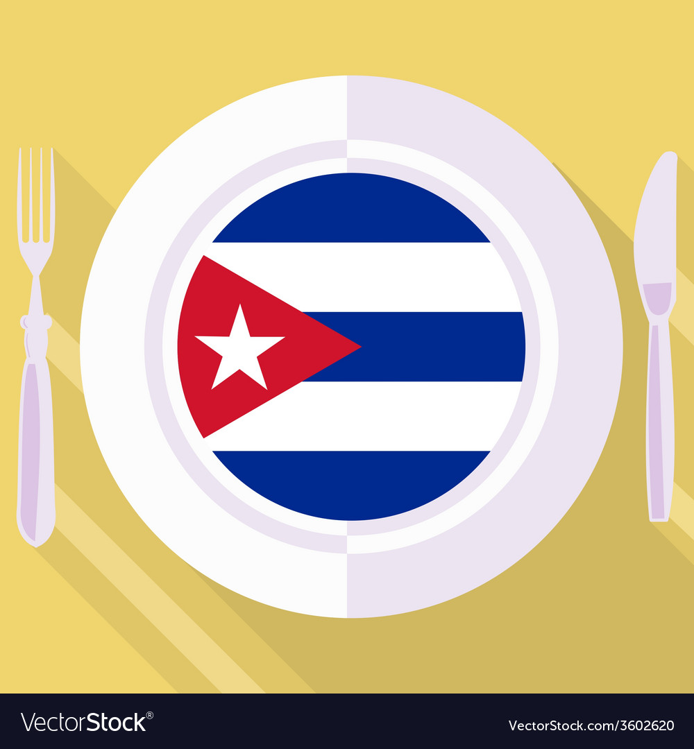 Kitchen of cuba vector | Price: 1 Credit (USD $1)