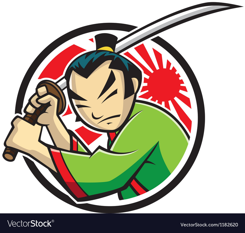 Samurai vector | Price: 3 Credit (USD $3)
