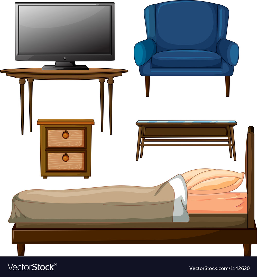 Wooden furnitures vector | Price: 1 Credit (USD $1)