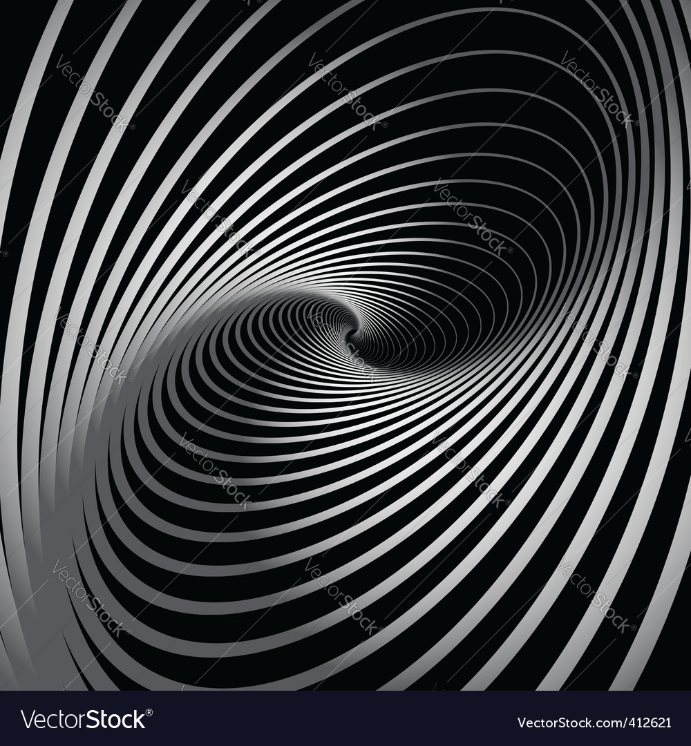 Background with spiral whirl movement vector | Price: 1 Credit (USD $1)