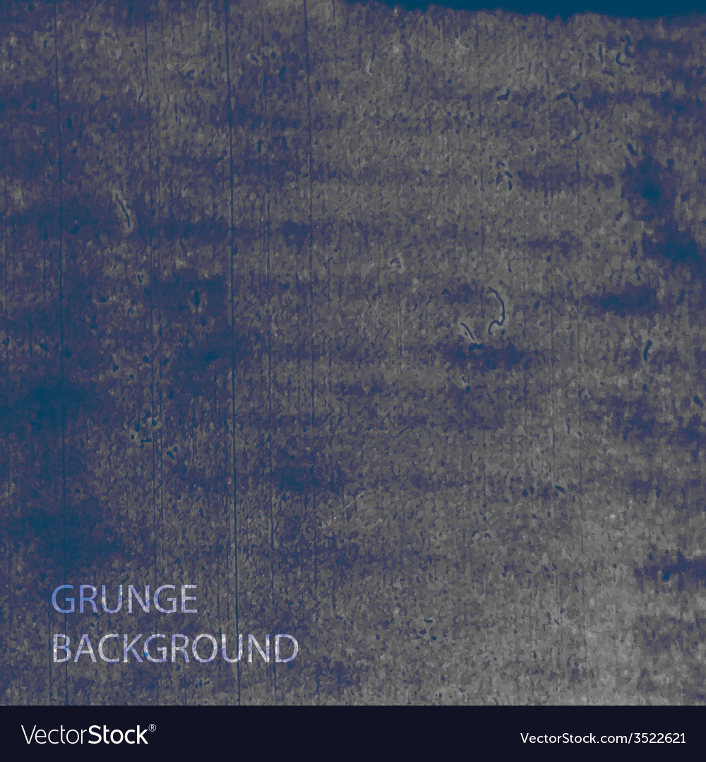 Grunge watercolor background brushed ink texture vector | Price: 1 Credit (USD $1)