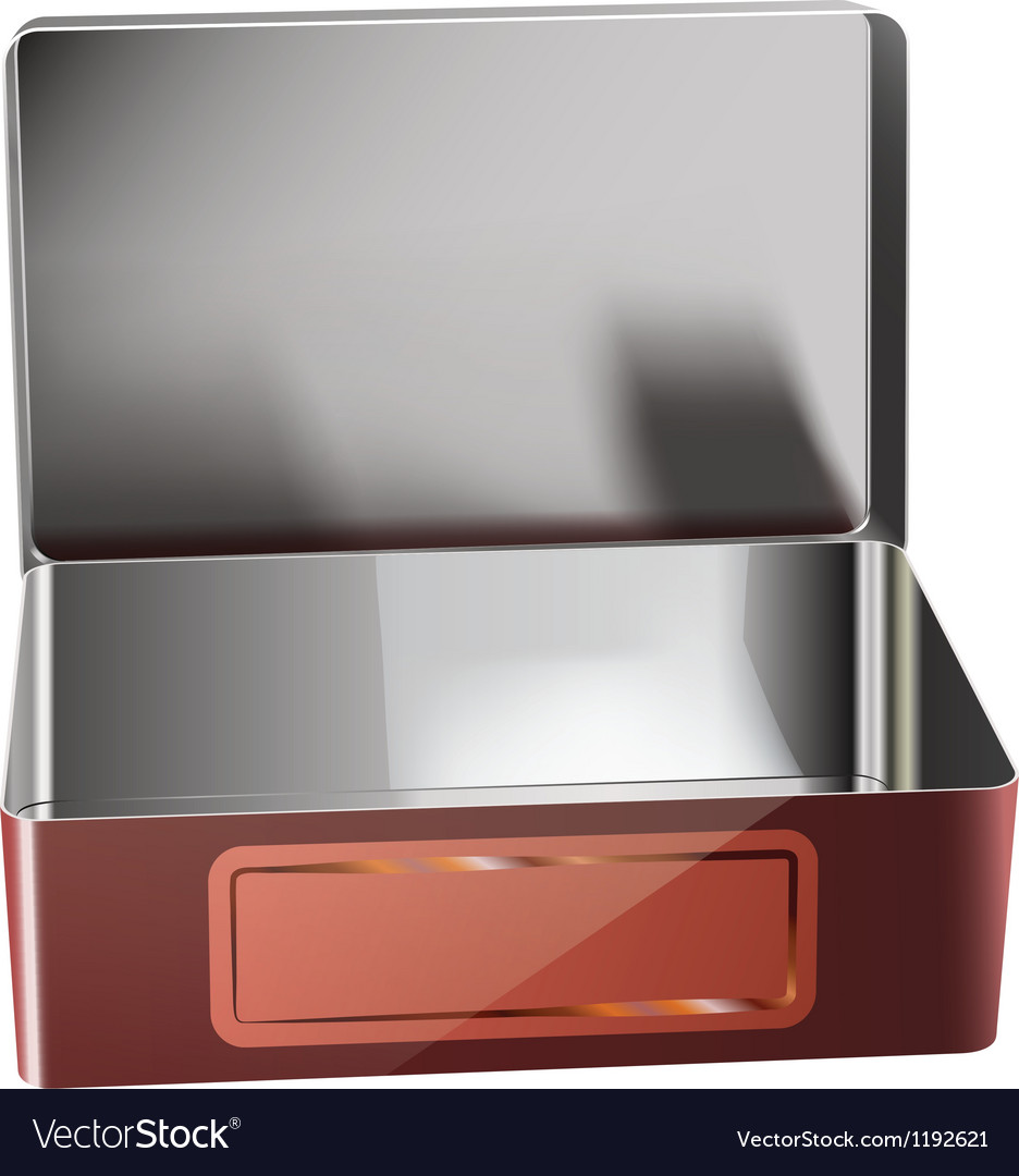 Metal container vector | Price: 1 Credit (USD $1)