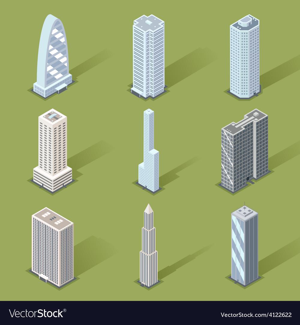 3d skyscraper graphic designs vector | Price: 1 Credit (USD $1)