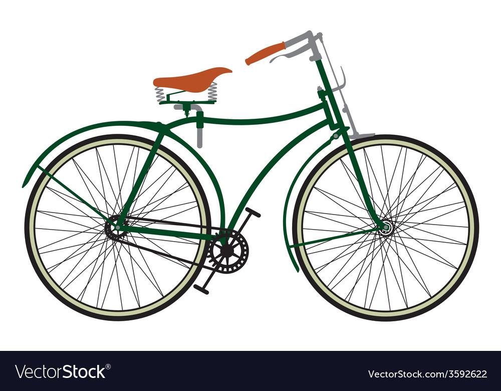 Retro bike3 vector | Price: 1 Credit (USD $1)