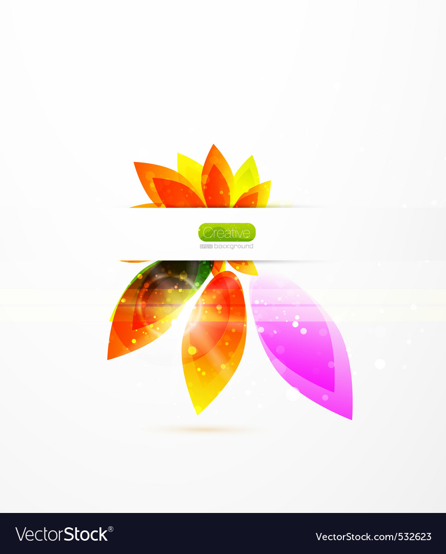 Creative leaves vector   Price: 1 Credit (USD $1)