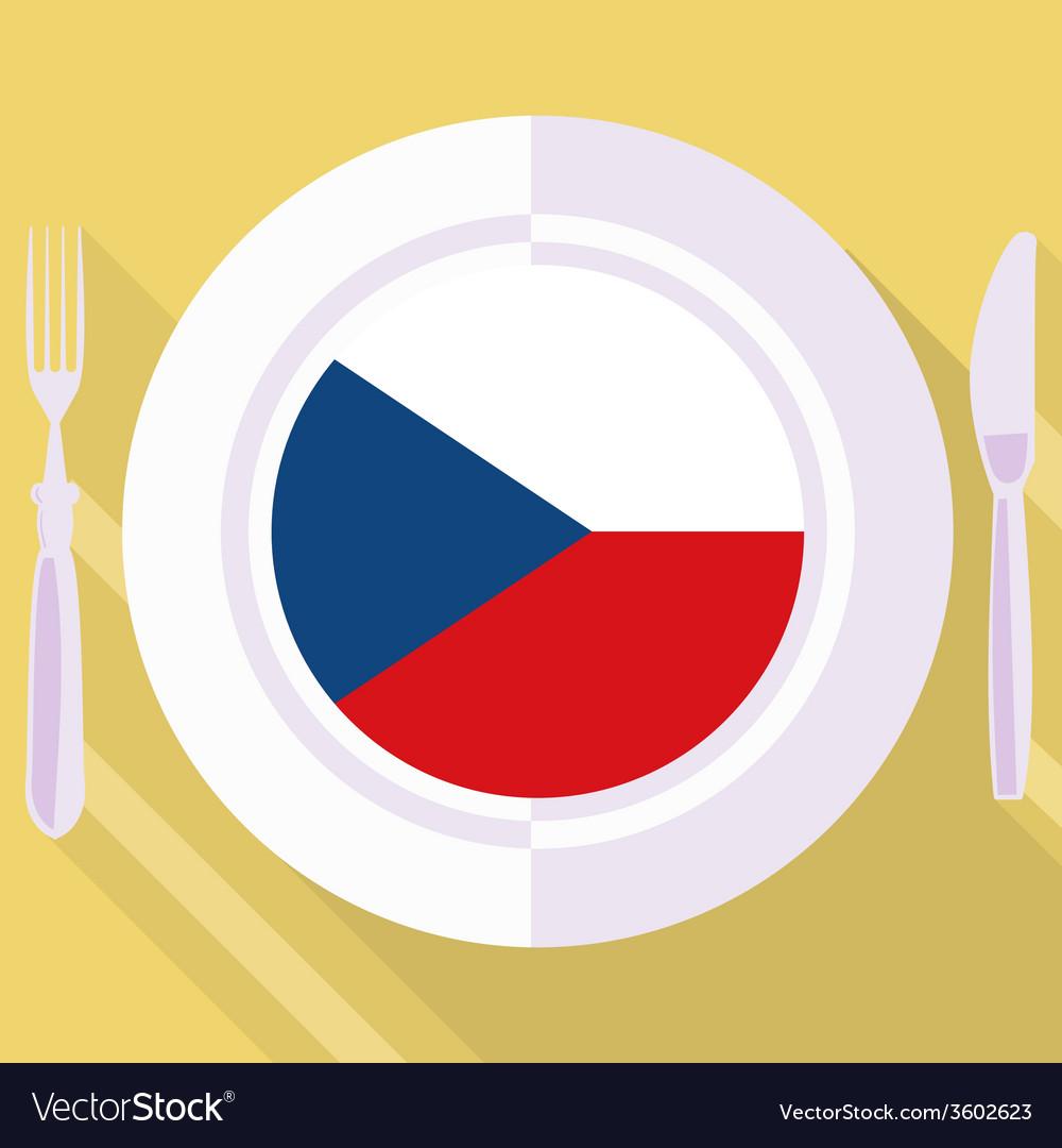 Kitchen of czech republic vector | Price: 1 Credit (USD $1)