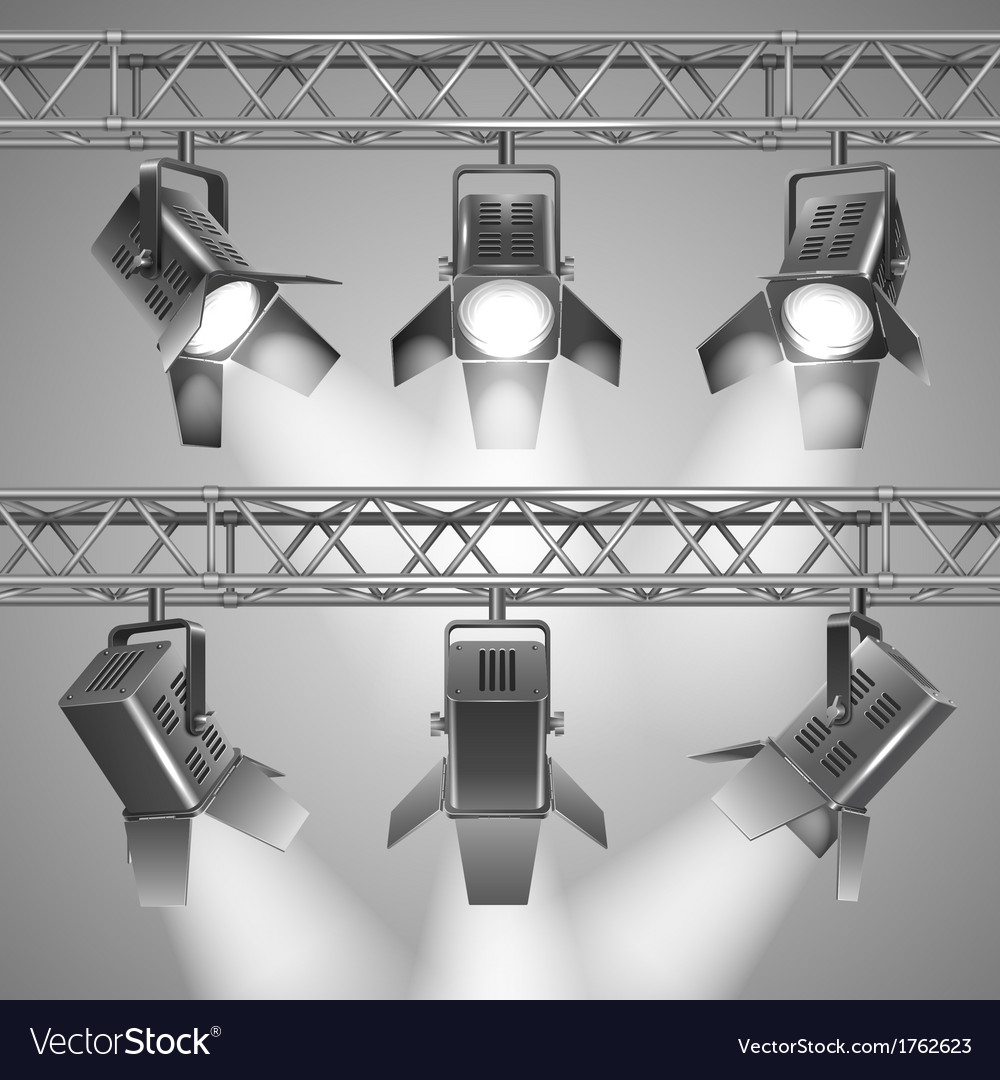 Show projectors vector | Price: 1 Credit (USD $1)