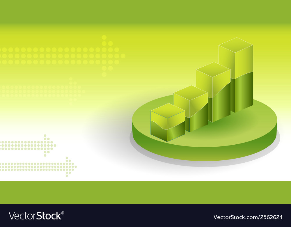 Financial graphs background vector | Price: 1 Credit (USD $1)
