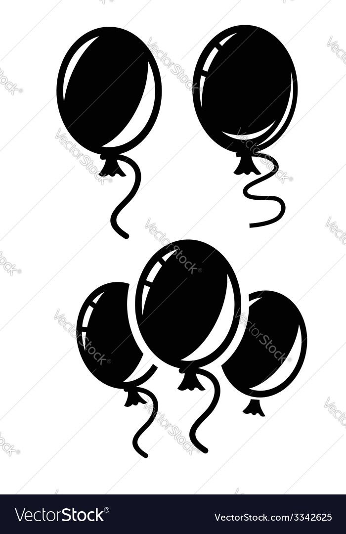Balloon icon vector | Price: 1 Credit (USD $1)