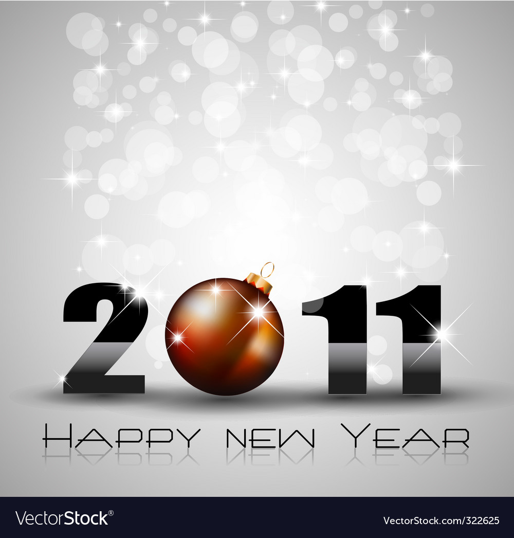 New year celebration background vector | Price: 1 Credit (USD $1)