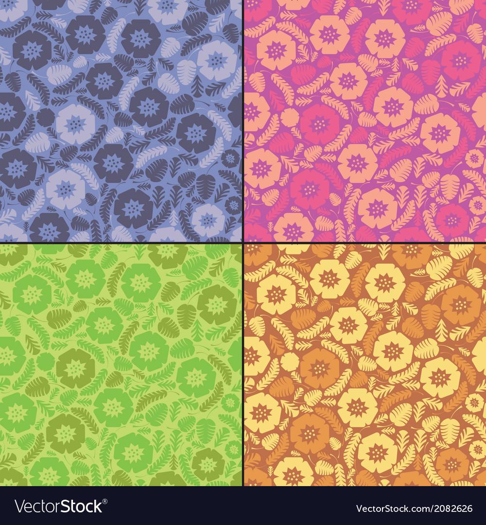 Floral set vector | Price: 1 Credit (USD $1)