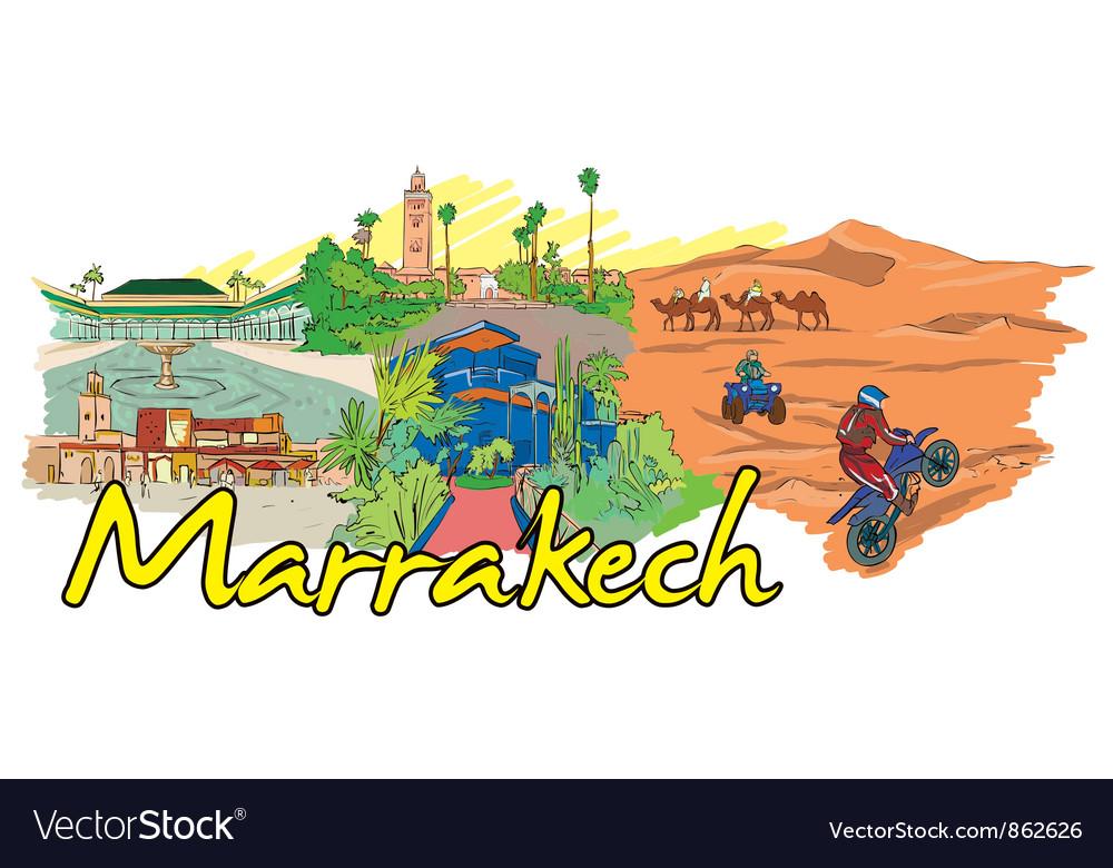 Marrakech doodles vector   Price: 3 Credit (USD $3)