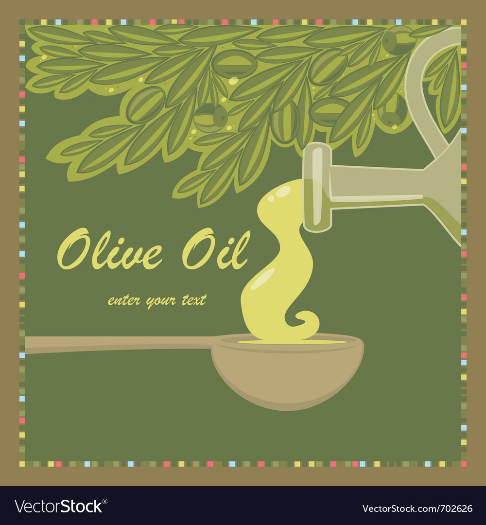 Olive oil vector | Price: 1 Credit (USD $1)