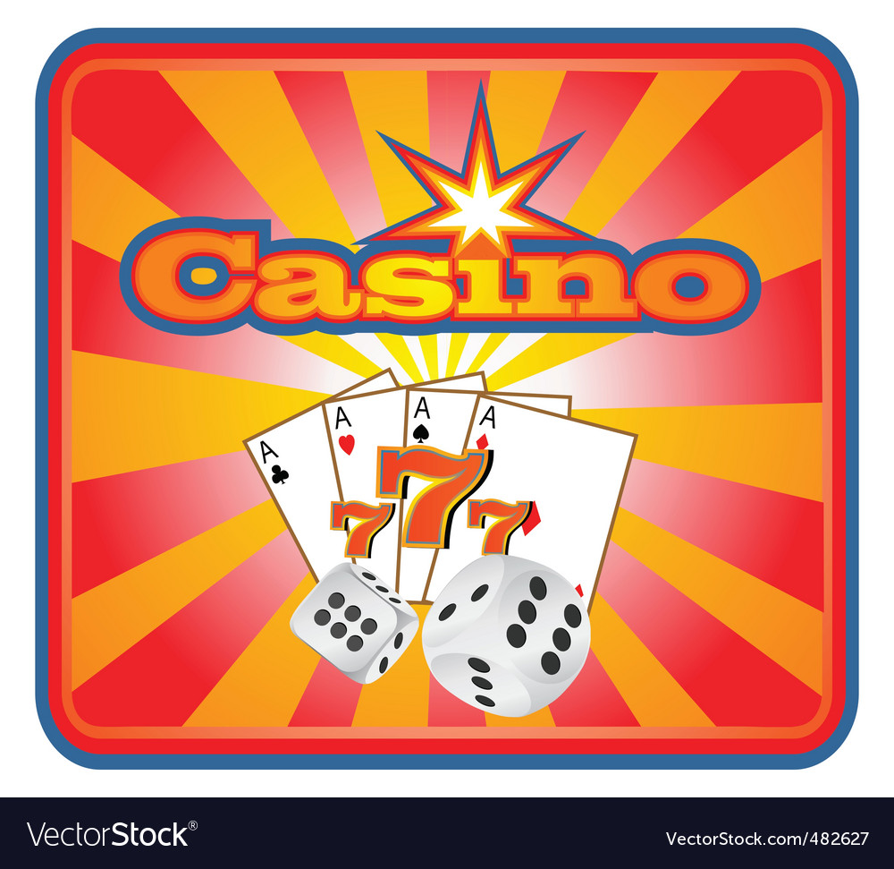 Casino background vector | Price: 1 Credit (USD $1)