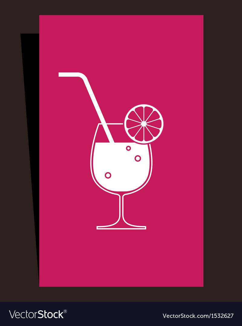 Cocktails menu design vector   Price: 1 Credit (USD $1)